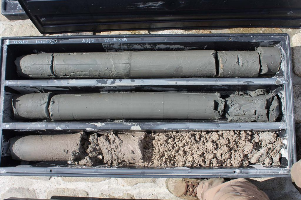 Geotechnical cores