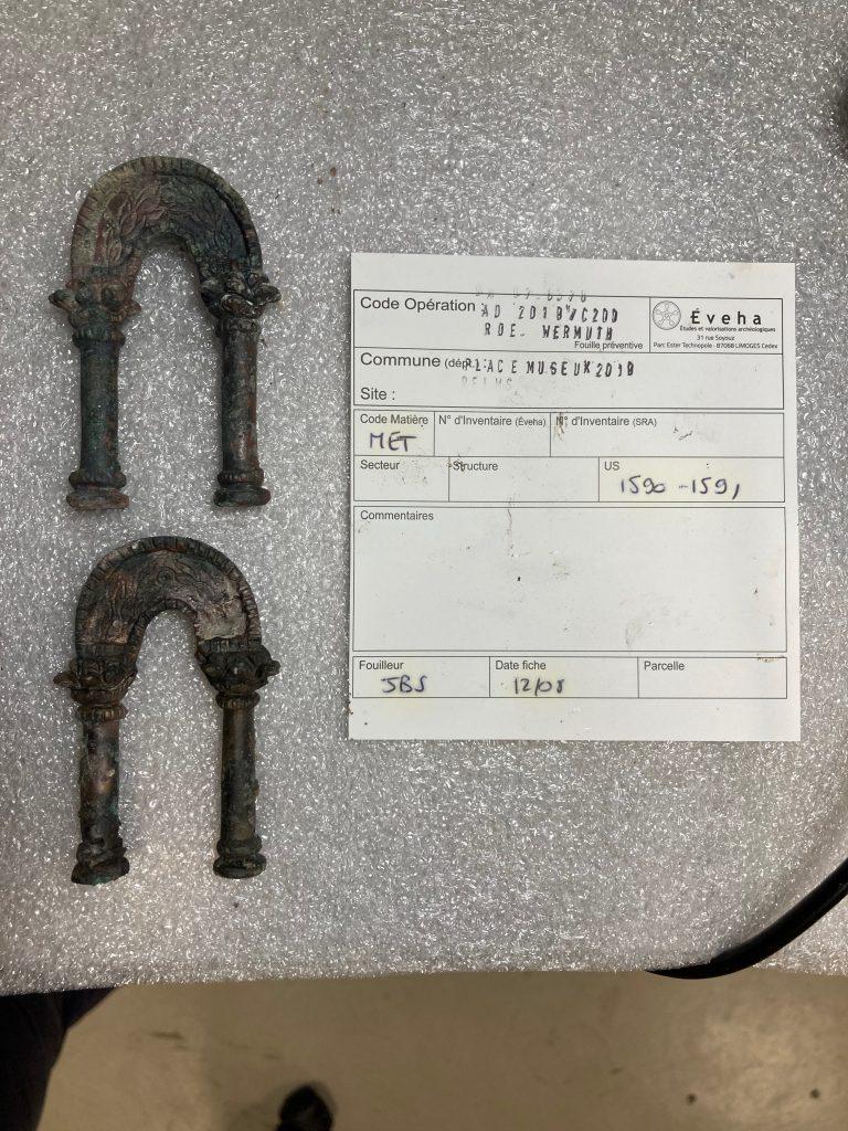 Gallo-Roman metal arches Reims